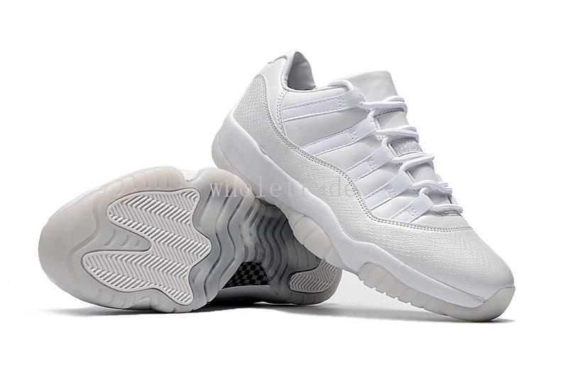 Mens 11 Low Frost White Heiress Schuhe 11s Heiress Sneakers zum Verkauf