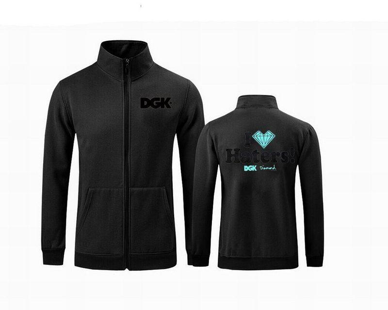 s-5xl C205 New Design Causal Mens DGK zipper Hoodies, Sweatshirts Male Fashion Sportswear Outerwear, Man Outdoor Sports