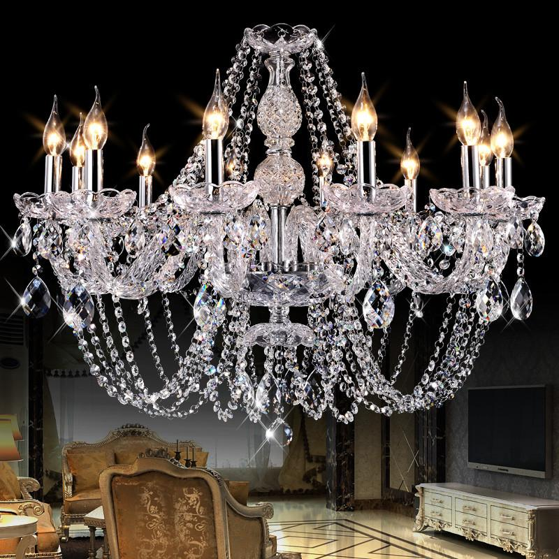 Crystal lamps Chandelier Lighting High Quality Model Beautiful Chandeliers Top Grade Luxury House Living