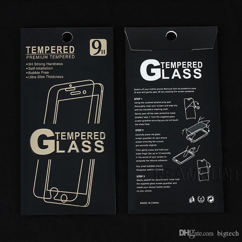 2.5D Explosionsgeschützter Displayschutzfolienschutz für Samsung Note 3 Note 4 Displayschutzfolie mit Reinigungswerkzeug
