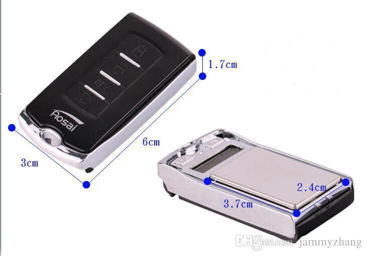 100g / 200g Mini Cep Hassas Dijital Terazi Altın Pırlanta Ölçekli Takı taş 0.01 Ağırlık Elektronik Anahtar Ölçekler