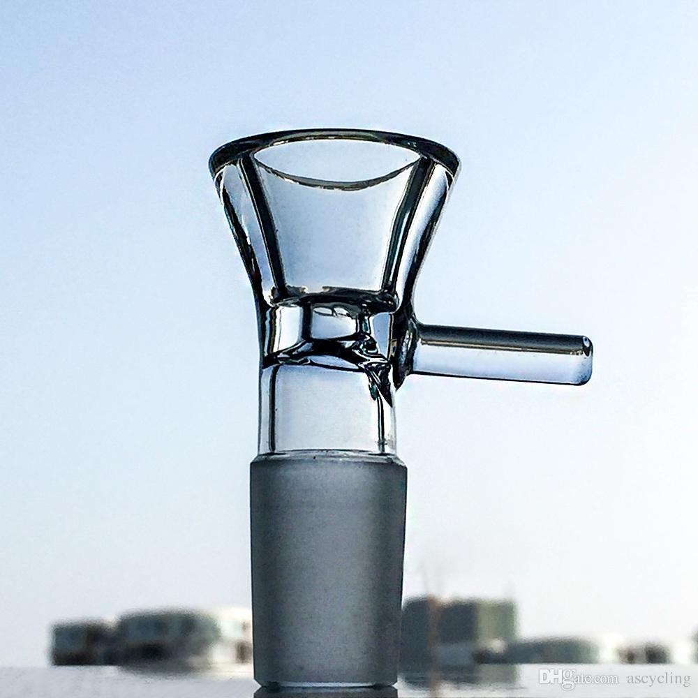 Tube droit Bong 14 pouces haute glace Pincez verre Bongs stéréo Matrice Perc Dab Rig frittés en verre disque Les conduites d'eau avec cuve WP296