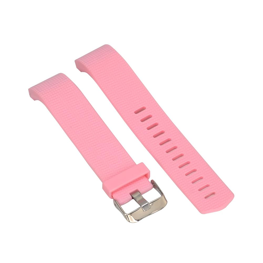 Colorful Silicone Wristband Strap Wrist Smart Watch Band Strap Soft Watchband Smartwatch Band Replacement For Fitbit Charge 2