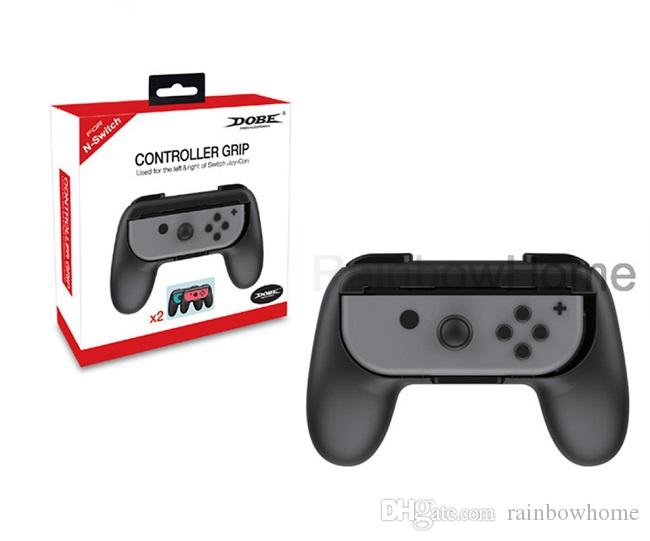 Controller Grip Holder for Switch NS Left Right Joy Con Controllers Gamepad Handle Grips Retail Package Box