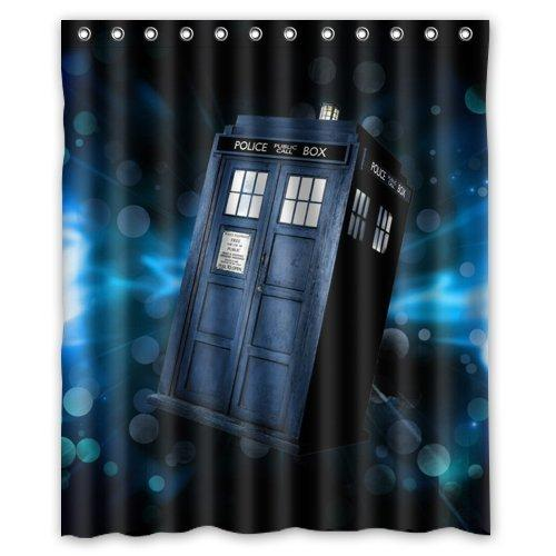 2018 Custom Waterproof Polyester Bathroom Fabric Shower Curtain