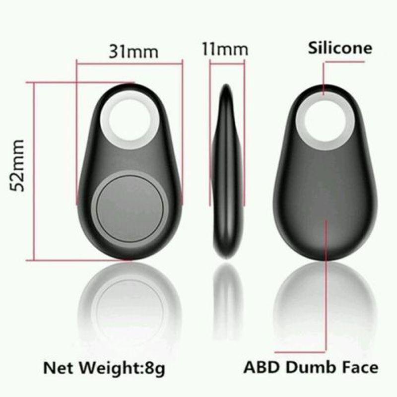 Bluetooth Anti-Lost Alarm Tracer Kamera Fernauslöser iTag Anti-Lost Alarm Selbstauslöser Bluetooth Key Finder Locator für alle Smartphone US05