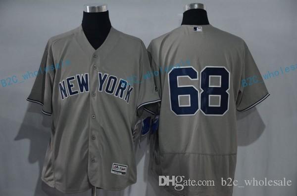 d41e8d6d2 ... 2017 2017 Flexbase Stitched New York Yankees 68 Dellin Betances White  Grey Blue Black Jerseys Home ...