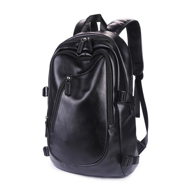 PU traveling backpack for men women casual fashion 14 inch laptop backpacks big size tide Computer school Backpacks