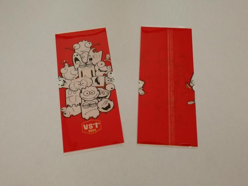 Kanlı Soya Şeytan Kafatası Mutlu Corpse Komik Boys 18650 Pil PVC Cilt Sticker Vaper Sarıcı Kapak Kol Wrap Vape DHL için Isı Küçültmek