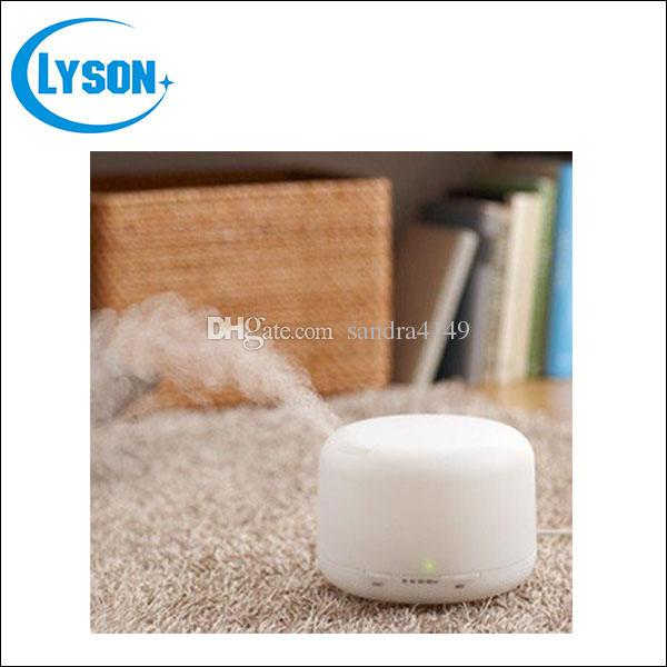 Portable 500ml Ultrasonic Air Humidifier Aroma Diffuser Fragrance Sprayer Office Purifier Essential Oil Diffuser with Colorful LED