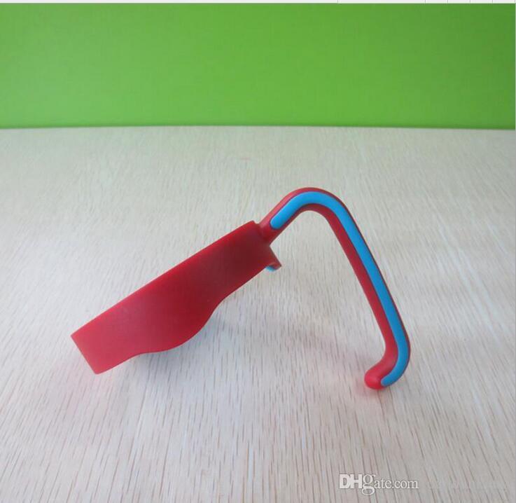 copo portátil lida com canecas mão pega Titular copos mais frias Tumbler 20 onças urso de viagem de café a vácuo coloridos alças de plástico