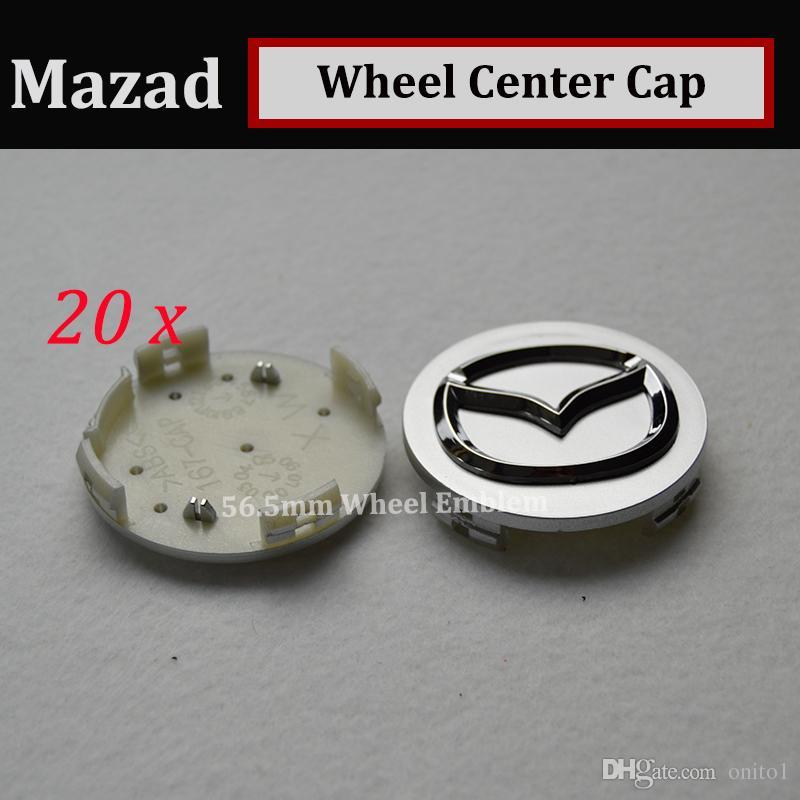 good quality 56mm emblem Auto Wheel Hub Emblem Caps for CX 5 7 9 RX MPV MX Car Wheel Center Covers