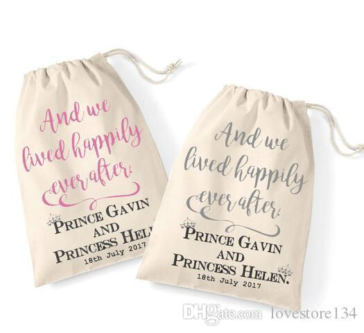 personalized fairytale wedding his and her bachelorette hangover kit favor keepsake gift bags bridal shower party candy pouches wedding favour gifts wedding