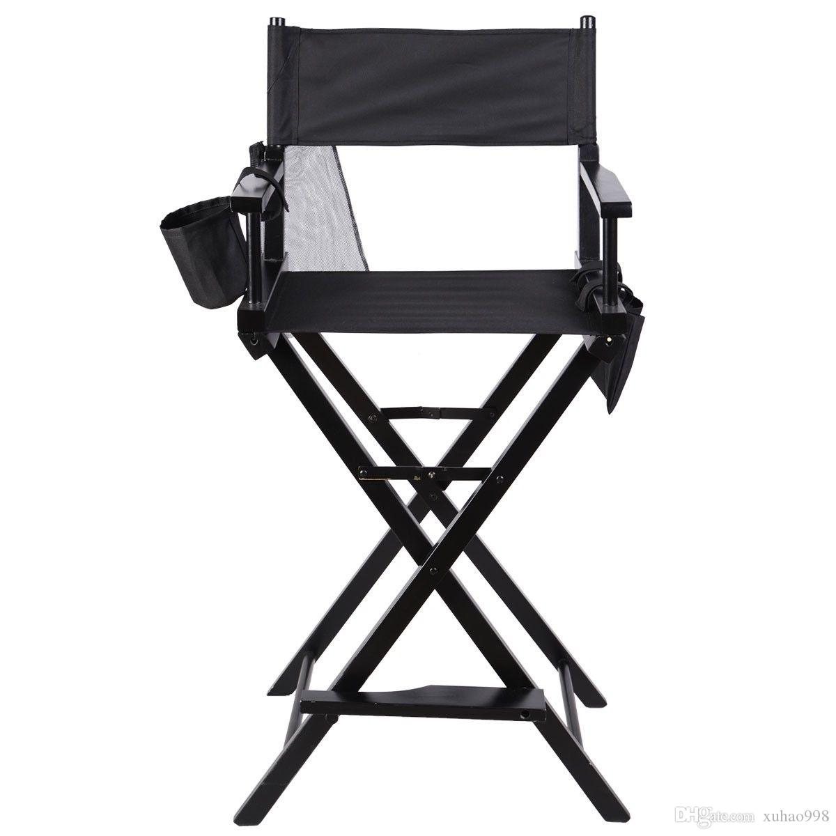 2019 Professional Makeup Artist Directors Chair Wood Light Weight Foldable Black New From Xuhao998, $53.27   DHgate.Com