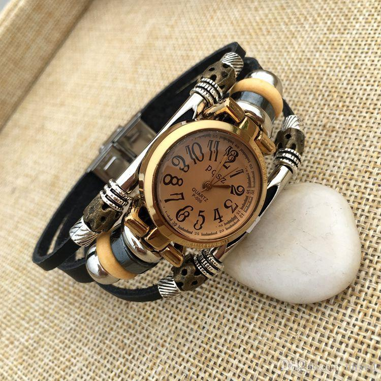 PQSZ B13 мужской моды часы ремешок для часов досуг простой браслет часы производители Оптовая браслет часы мужчины кварцевые часы цифровой Араби