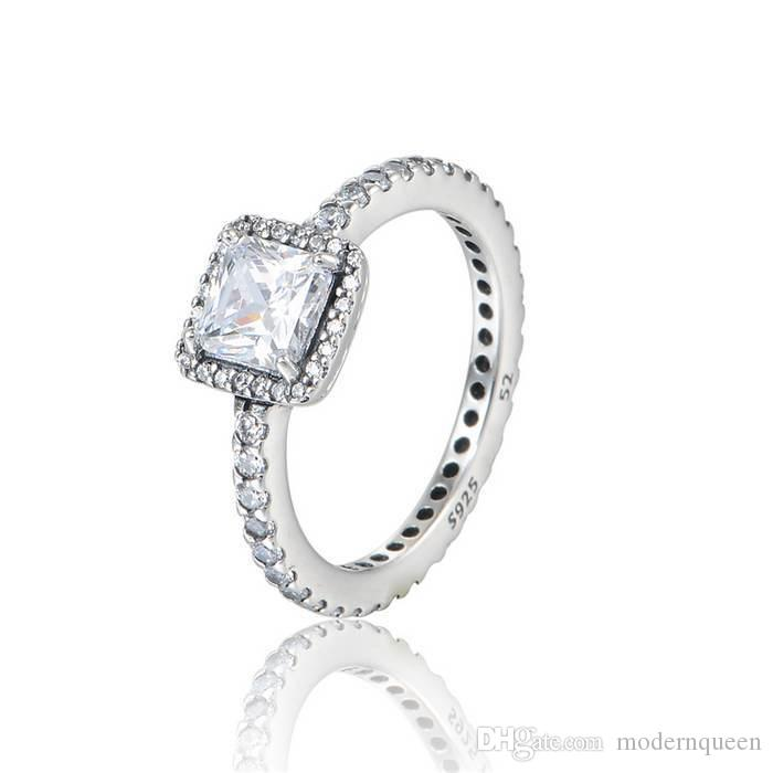 Timeless Elegance Silver Rings Cubic Zirconia S925