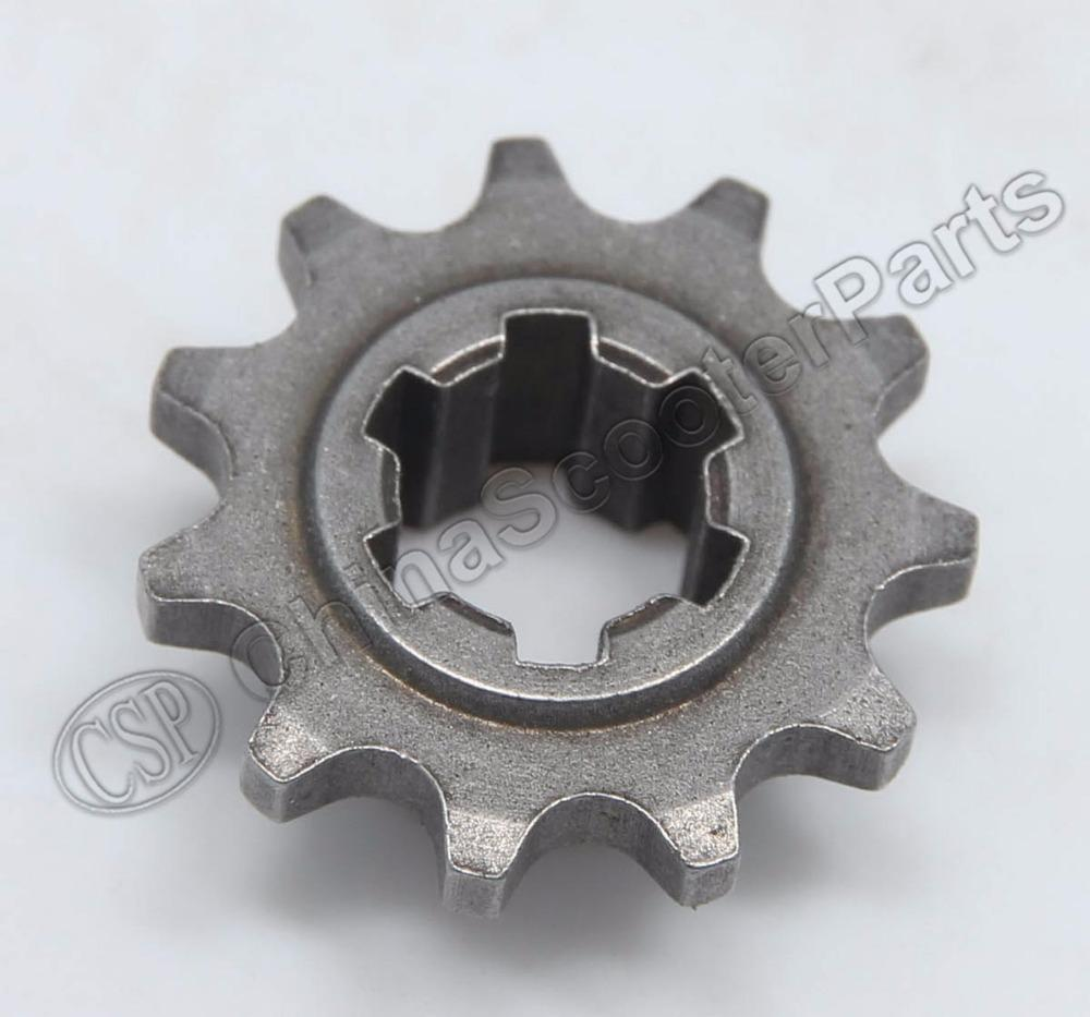 wholesale t8f 11t front pinion sprocket 11 tooth of clutch gear box