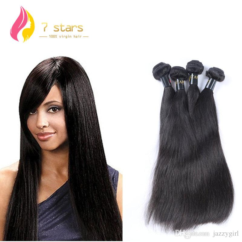 100 Unprocessed Hair Weave Brazilian Peruvian Malaysian Indian
