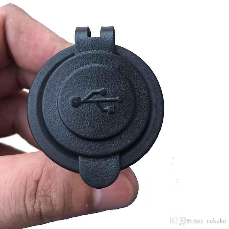 Su geçirmez USB Şarj Adaptörü 12 V-24 V Giriş Voltaj Soket 12-24 V Çıkış Gücü Jack Deniz Motosikletler tarafından Jenerik