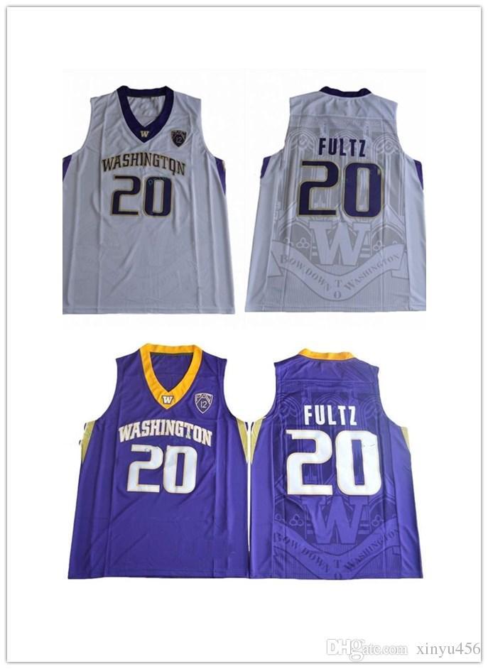 ee4347b62 2017 Washington Huskies Markelle Fultz College Basketball Jersey Cheap  20 Markelle  Fultz Black White Purple Shirts University Jerseys Mens UK 2019 From ...
