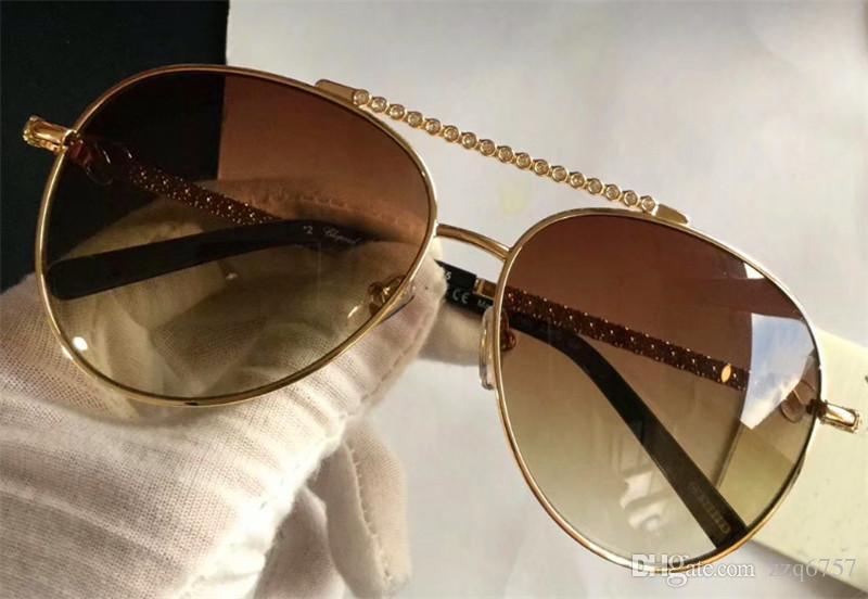 1461a81882 ... De Sol De Diseñador De Moda Marco De Pilotos De Metal Con Diamante De  Calidad Superior De Estilo Popular Superventas Gafas De Protección Uv 400  Lente A ...