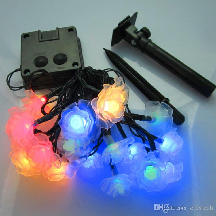 merry christmas lights rose lotus peach blossom led strip christmas light holiday decoration led fairy garden lights led rgb strip uv led strip from