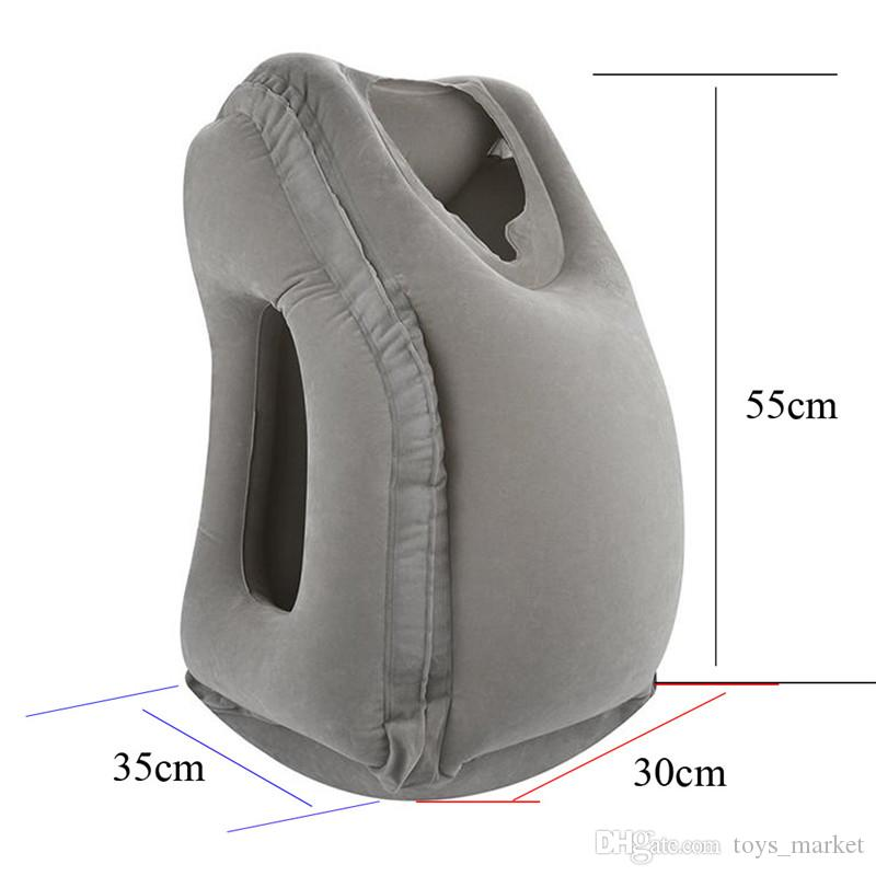 Inflatable Cushion Travel Pillow The Most Diverse & Innovative Pillow for Traveling Airplane Pillows Neck Chin Head Support