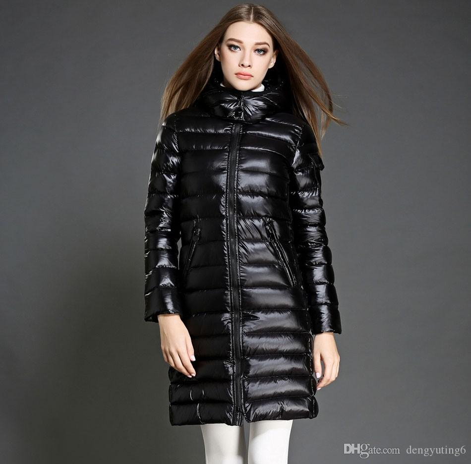 2018 Winter Jacket Women Long Parka Thick Duck Down Coat Plus Size ...