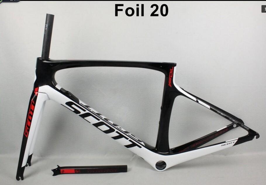 es 2017 nuevo marco del camino del carbono de la hoja de T1000 marco de la bici del camino 47/49/52 / 54cm