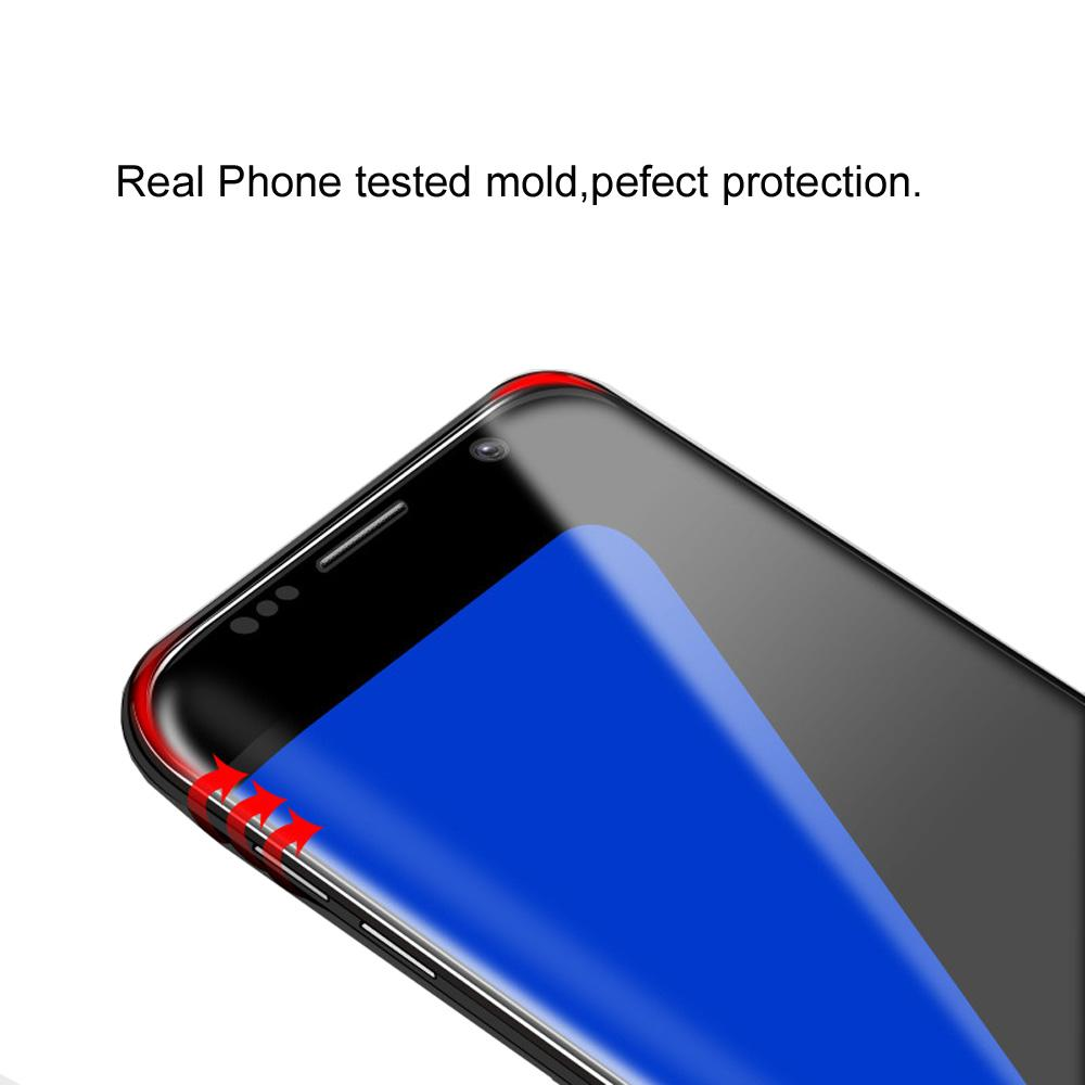 3D Curved Tempered Glass Film Full Cover Screen Protector for Samsung Galaxy S7 Edge G9350 Glass Cover
