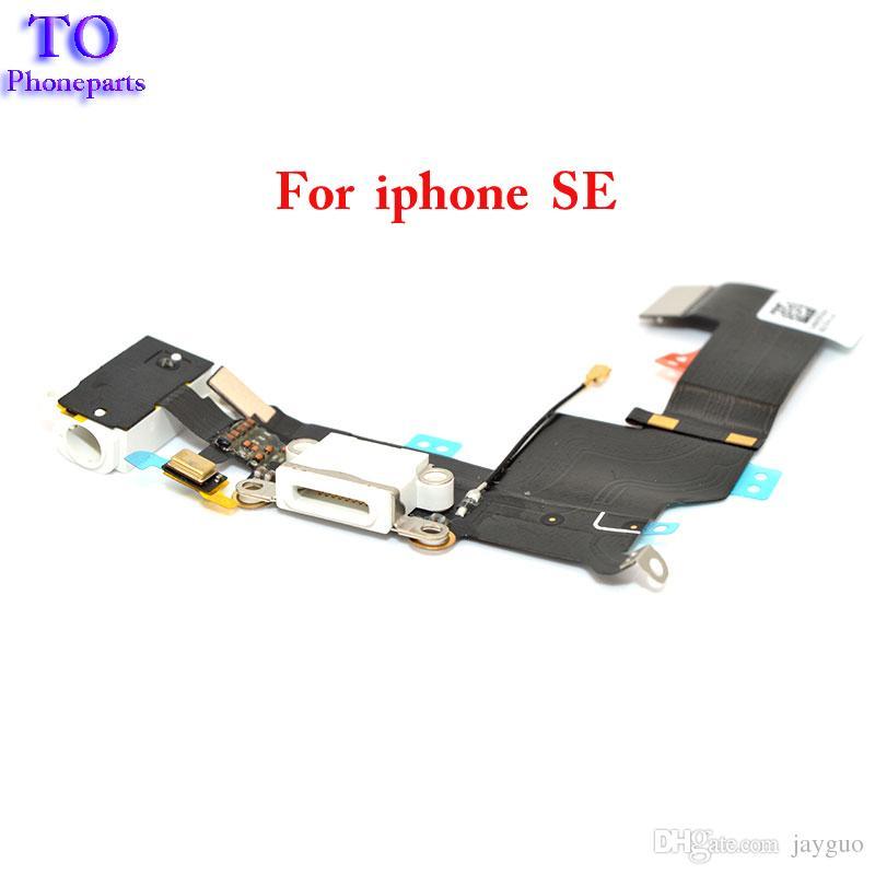 Cavo all'ingrosso della flessione della spina della porta di carico del USB del bacino del caricatore del commercio all'ingrosso Iphone 5SE SE con la versione della cuffia Jack che spedice liberamente