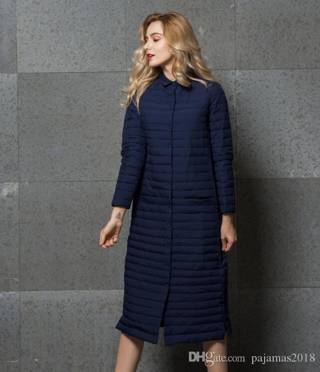 2018 Clothes Winter Down Jacket Parka Coat Women Long Duck Goose ...
