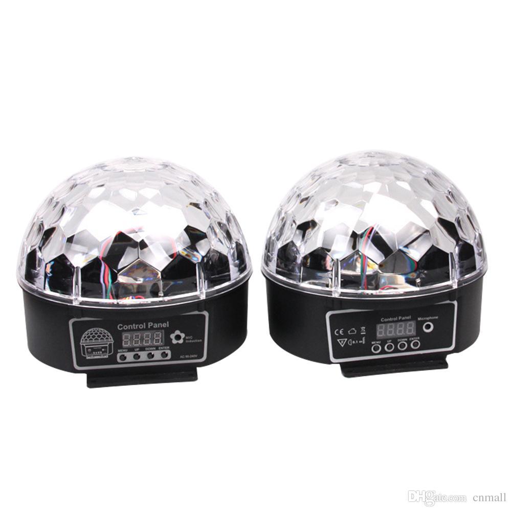 Stylish 20w Dmx Voice Activated Rgb Led Crystal Magic Ball Laser ...