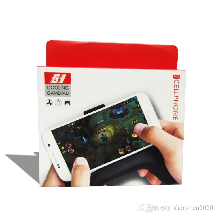 2017 Portable Game Controller with Cooling/Power Bank/Mobile Bracket for New phone Gamepad Systems