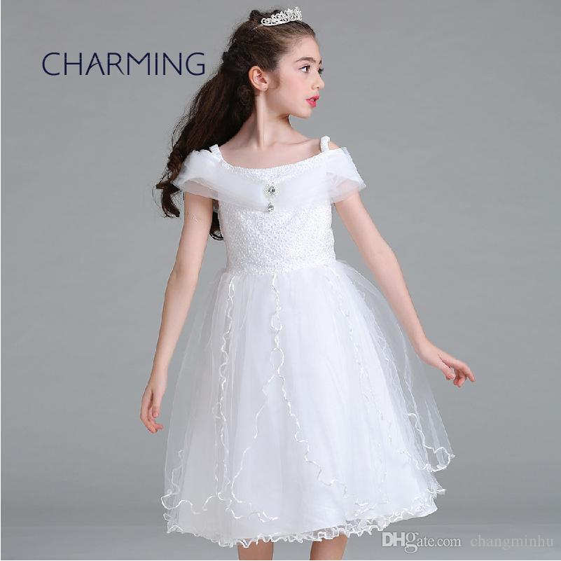 Designer Dress For Girls Princess Dress High Quality Fabric Wedding