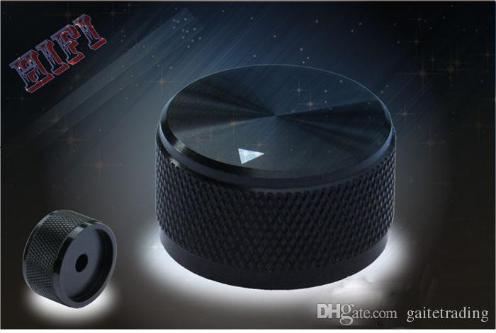 Aluminum knob checker HIFI electronic potentiometer knob DIY Digital part Sound volume switch Tube Amplifier knob