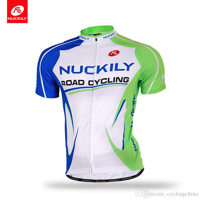 00896adbc NUCKILY Men s Summer Jersey Short Sleeve Super Light Quick Dry Cycle ...