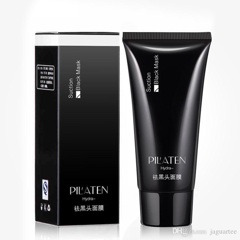 Hot Sale PILATEN Face Care Suction Black Mask Facial Mask Nose Blackhead Remover Peeling Peel Off Black Head Acne Treatment