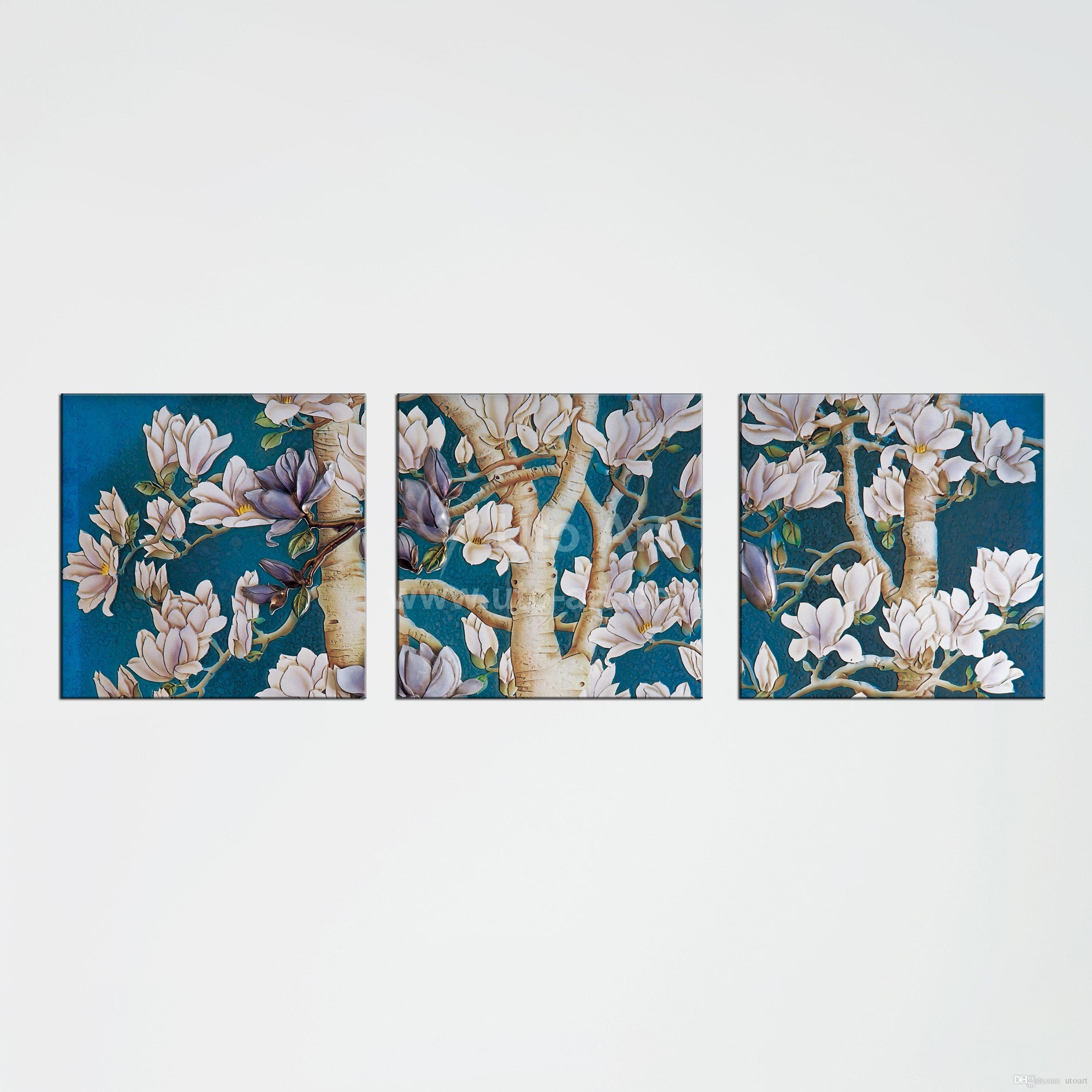 modern home decor canvas painting van gogh apricot flower   - modernhomedecorcanvaspaintingvangogh