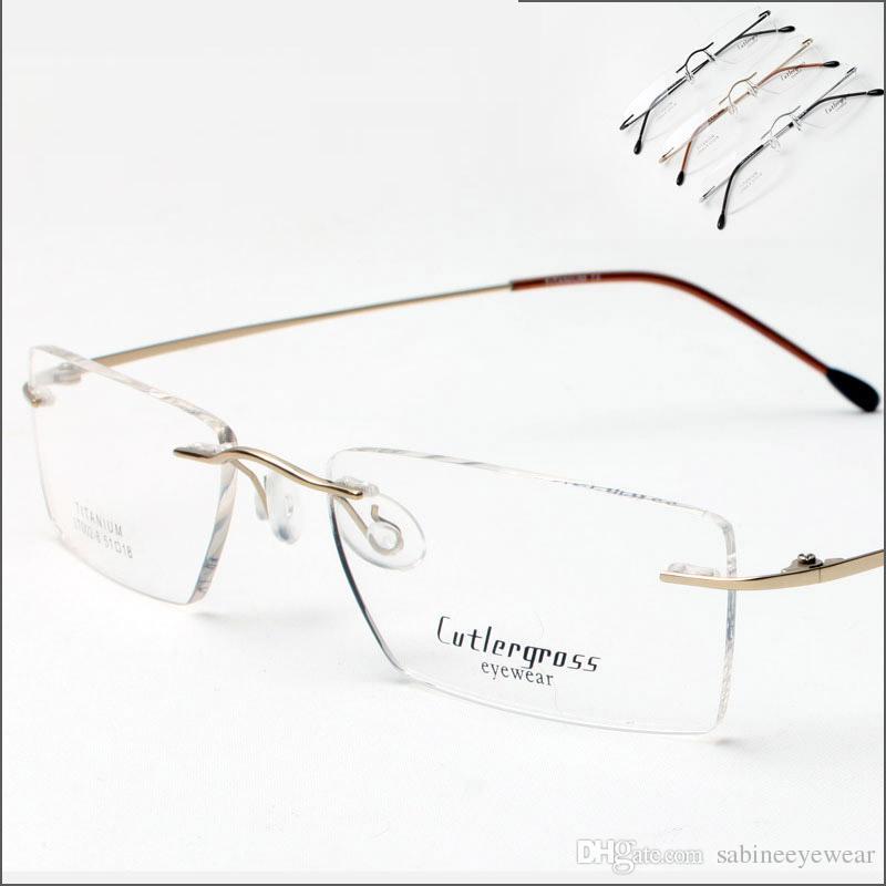 08bf92083 Compre Unisex Flexível Titânio Retângulo Sem Aro Óculos De Armação Feminino  Masculino Leve Quadro Óptico Lt002 8 De Sabineeyewear, $20.31 |  Pt.Dhgate.Com