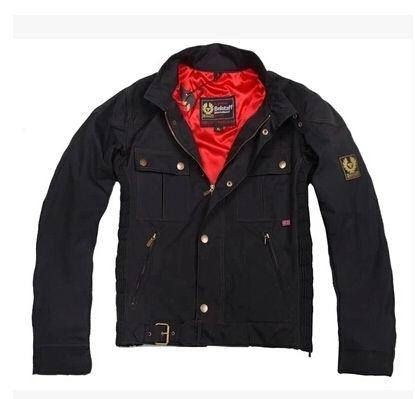 Chaqueta Nueva moda Hombre Fresco Moto Chaqueta de cuero Otoño Invierno Hombre Cera Prendas de abrigo Chaquetas Roadmaster Abrigos con algodón