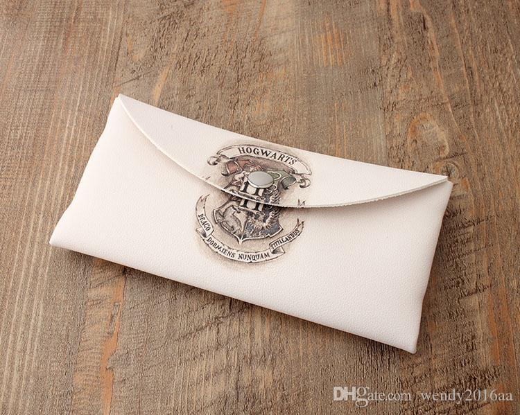 2017 New Harry Potter Magic School Wallet Unisex long style printed Fashion Coin Purse Mobile Phone bag