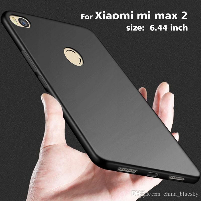 various colors 78a79 1d0d9 Matte case for Xiaomi mi max 2 mi mix Clear Crystal soft TPU silicone  rubber material 0.8mm thickness cover