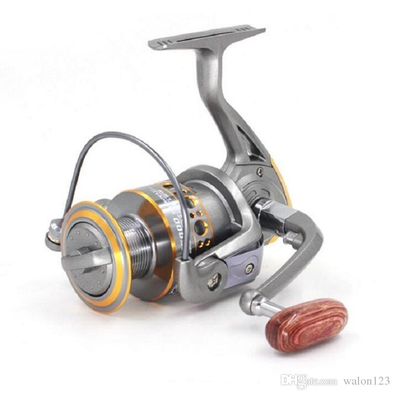 Wholesale Spinning Reel DC Series13BB Ball Bearing Salt Fresh Water Sea Casting Lure Fishing Reel Bass Tackle Line Pesca Free Shipping