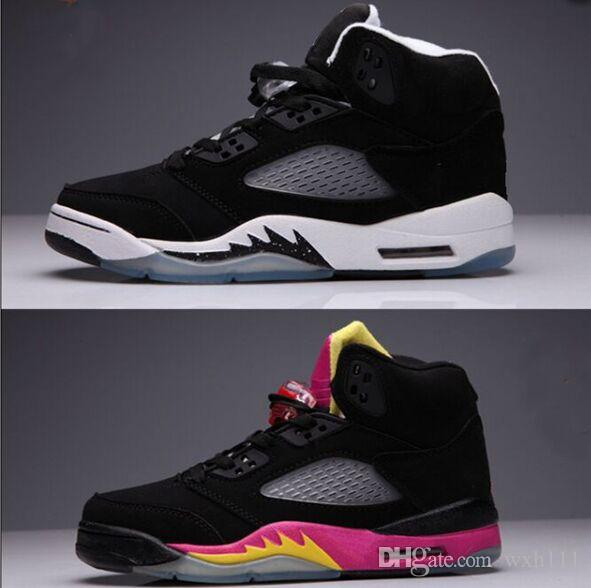 1f476bf771ba1 Top Quality 5s Men Basketball Shoes Men Women Oreo Sneakers Hot Sale ...