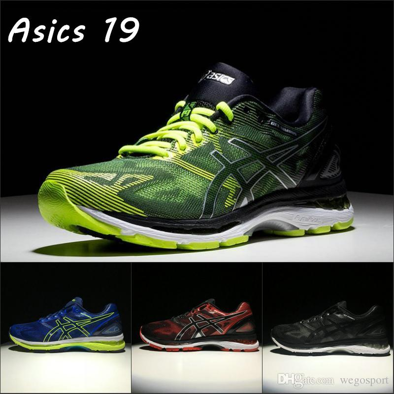 official photos 4cc24 ecb42 2019 Asics Gel-Nimbus 19 Mens Running Shoes T700N-9007 Top Basketball Shoes  Boots Sport Shoes Designer Sneakers Size 40-45