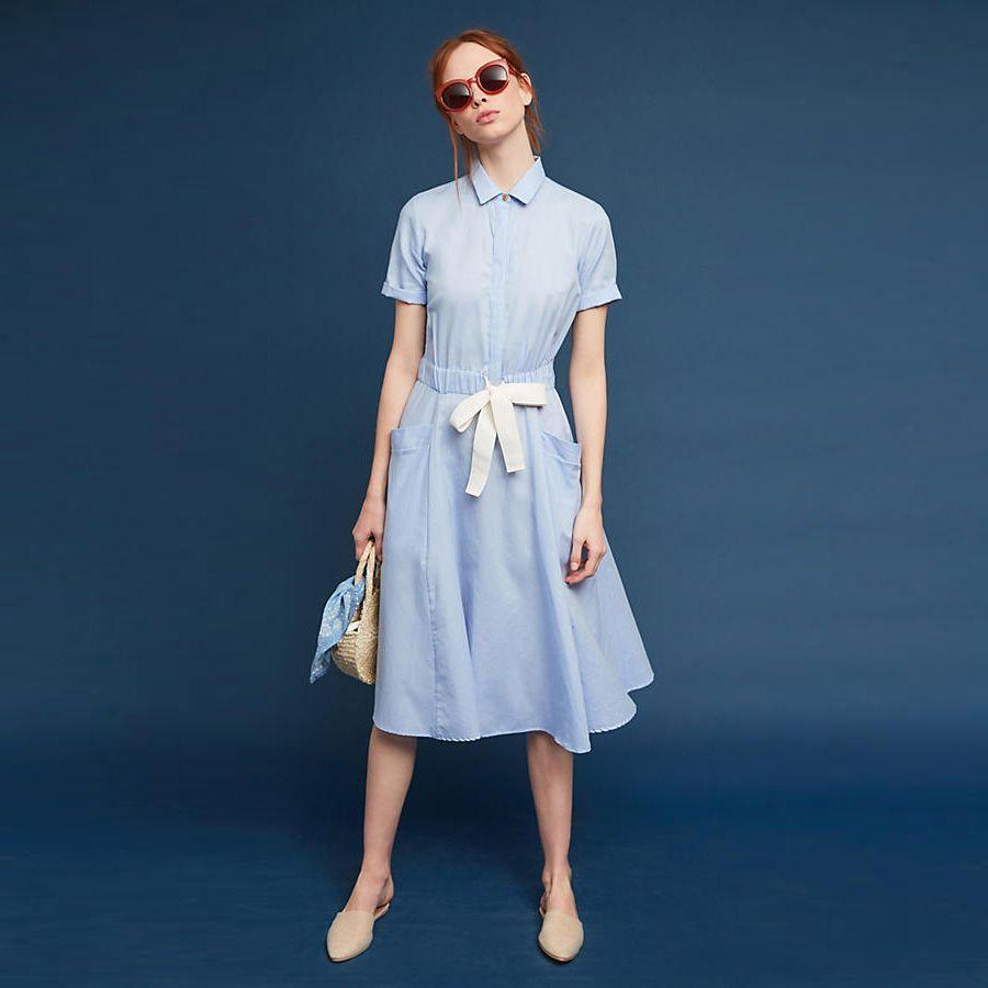 Party Cotton Summer Dresses Women Elegant Loose Flare Vintage Plus ...