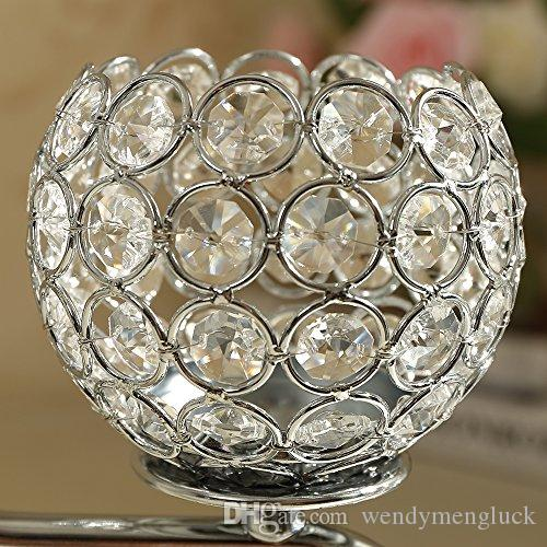Crystal Candelabra Wedding Parties Events Table Centerpieces Decoration Fireplace Candle Holders Gifts for Birthday Housewarming Christmas