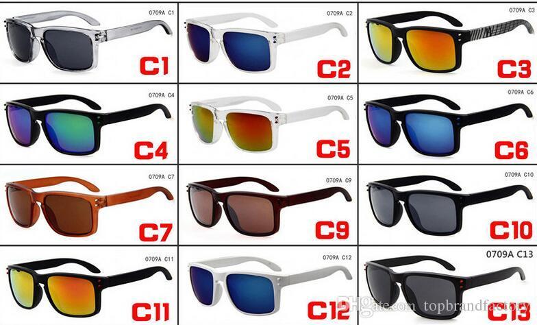 2017 hot sale sports sunglasses hoolbrook estilo ao ar livre ciclismo óculos de sol para mulheres dos homens da bicicleta óculos 0709A