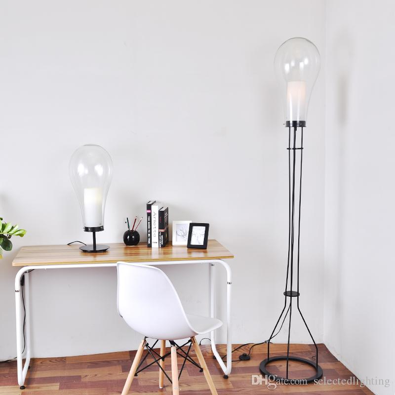 Nordic creative modern floor lamps e27 glass lampshade floor nordic creative modern floor lamps e27 glass lampshade floor standing lamp led desk light for bedroom floor reading lamps floor standing lamps floor lamps aloadofball Images